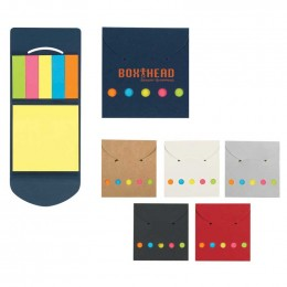 Pocket Case Sticky Notes Custom Logo