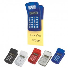 Calculator Clip Promotional Custom Imprinted With Logo