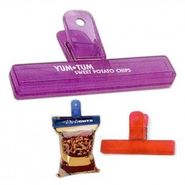 4 Inch Bag Clip Promotional Custom Imprinted With Logo