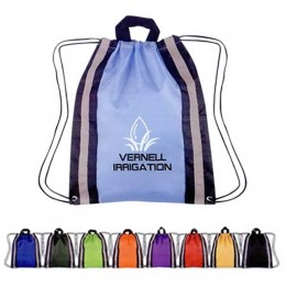 Small Nylon Reflective Sports Pack Promotional Custom Imprinted With Logo