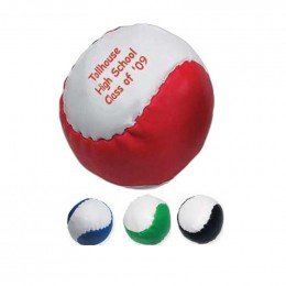 Leatherette Ball Promotional Custom Imprinted With Logo
