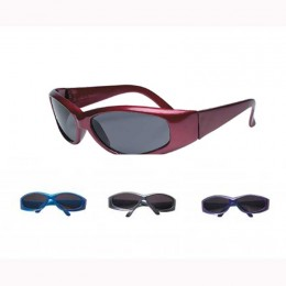 Colored Frame Sunglasses Promotional Custom Imprinted With Logo