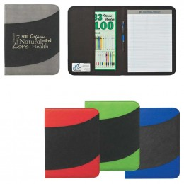 "Non-Woven 8 1/2"" x 11"" Bubble Padfolio Promotional Custom Imprinted With Logo"