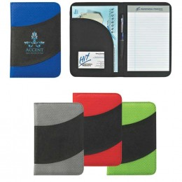 "Non-Woven 5"" x 7"" Bubble Padfolio Promotional Custom Imprinted With Logo"