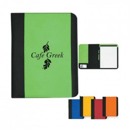 Non-Woven Large Padfolio Promotional Custom Imprinted With Logo