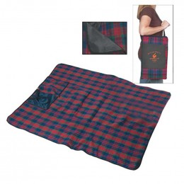 Picnic Blanket Promotional Custom Imprinted With Logo