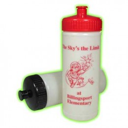 Glow-in-the-Dark Sport Bottles #22 Promotional Custom Imprinted With Logo