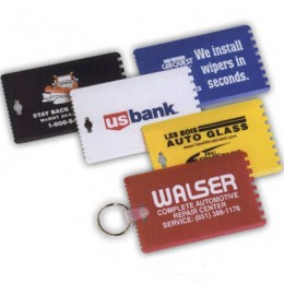 Credit Card Size Ice Scraper Promotional Custom Imprinted With Logo