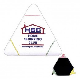 Triangle Highlighter Promotional Custom Imprinted With Logo
