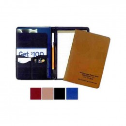 Tucson Executive Junior Desk Folder Promotional Custom Imprinted With Logo