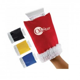 Ice Scraper Hand Mitten Promotional Custom Imprinted With Logo
