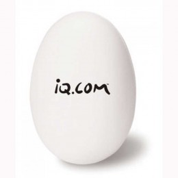 Egg Stress Ball Promotional Custom Imprinted With Logo