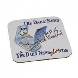 Square Coaster - 1/16 in. thick Promotional Custom Imprinted With Logo