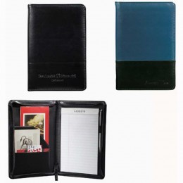 Windsor Reflections Jr. Zippered Padfolio Promotional Custom Imprinted With Logo