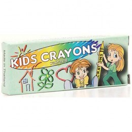 4 Pack Washable Crayons Promotional Custom Imprinted With Logo