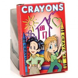 8 Pack Crayons Promotional Custom Imprinted With Logo
