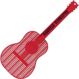 Large Guitar Fly Swatter Promotional Custom Imprinted With Logo