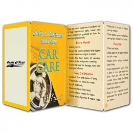 Car Care Promotional Custom Imprinted With Logo