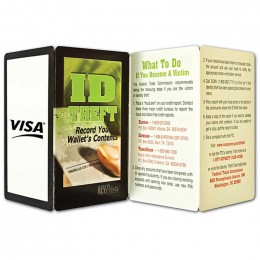 ID Theft Promotional Custom Imprinted With Logo