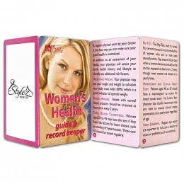 Womens Health Promotional Custom Imprinted With Logo