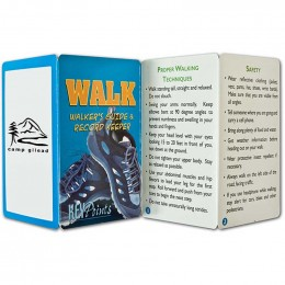 Walkers Guide Promotional Custom Imprinted With Logo