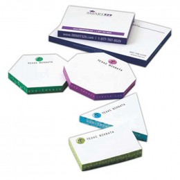 "Thin Sticky Note Cubes - 2"" x 3"" Promotional Custom Imprinted With Logo"