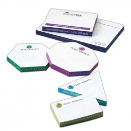 "Thin Sticky Note Cubes - 3 7/8"" x 5 7/8"" Promotional Custom Imprinted With Logo"