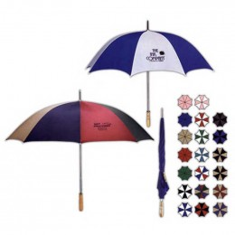 "60"" Arc Golf Umbrella Promotional Custom Imprinted With Logo"