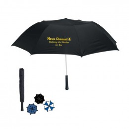Giant Telescopic Folding Branded Umbrella-Auto Open with Case