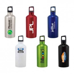 Classic 20 oz Stainless Sport Bottle Promotional Custom Imprinted With Logo