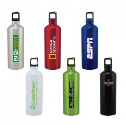 Classic 24 oz Stainless Sport Bottle Promotional Custom Imprinted With Logo