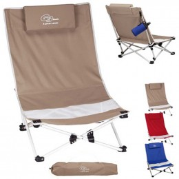 Mesh Beach Chair Promotional Custom Imprinted With Logo