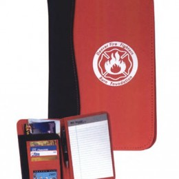 SIGN wave Junior Pad Holder Promotional Custom Imprinted With Logo