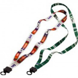 1/2 in. Economy Dye-Sublimated Lanyard with O-ring Promotional Custom Imprinted With Logo