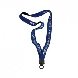 3/4 in. Neoprene Lanyard with Standard O-ring Promotional Custom Imprinted Logo
