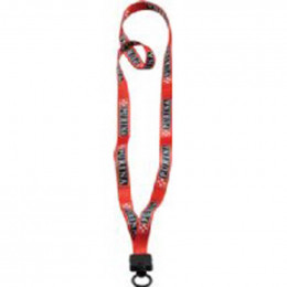 1/2 in. Recycled Dye-Sublimated Lanyard with O-ring