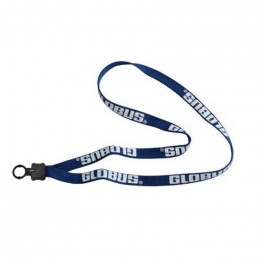 5/8 in. Shoelace with Standard O-ring Promotional Custom Imprinted With Logo