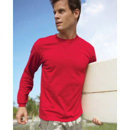 Fruit of the Loom Heavy Cotton Long-Sleeve T-Shirt - Color Promotional Custom