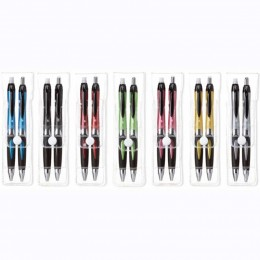 Helix Pen & Pencil Set Promotional Custom Imprinted With Logo
