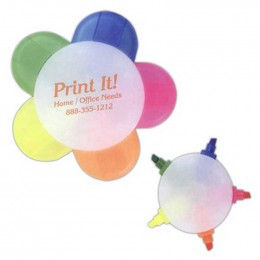 5 Prong Highlighter Promotional Custom Imprinted With Logo