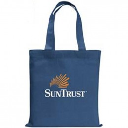 Colored Mini Economy Tote Promotional Custom Imprinted With Logo