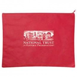 Poly Pro Everyday Zippered Portfolio Promotional Custom Imprinted With Logo