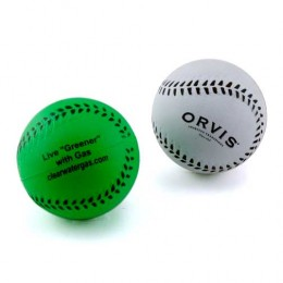 Rubber Baseball Promotional Custom Imprinted With Logo