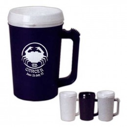 22 oz. Thermo Insulated Mug Promotional Custom Imprinted With Logo