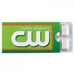 Sugar Free Cinnamon Gum Pack - 12 Piece Promotional Custom Imprinted With Logo
