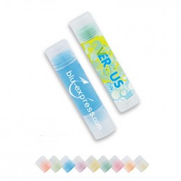 SPF 15 Chap Balm - Clear Tube Promotional Custom Imprinted With Logo