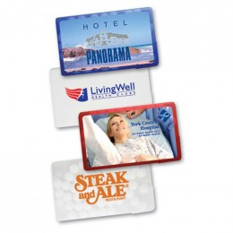 Rectangle Credit Card Mints Promotional Custom Imprinted With Logo