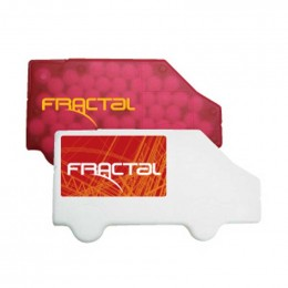 Truck Credit Card Mints Promotional Custom Imprinted With Logo