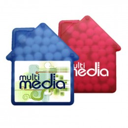 House Credit Card Mints Promotional Custom Imprinted With Logo