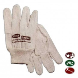 Cotton Canvas Gloves Promotional Custom Imprinted With Logo